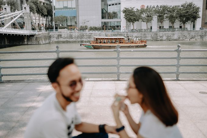 Cityscape Prewedding Session Singapore Baghaz & Yesi by Hexa Images - 015