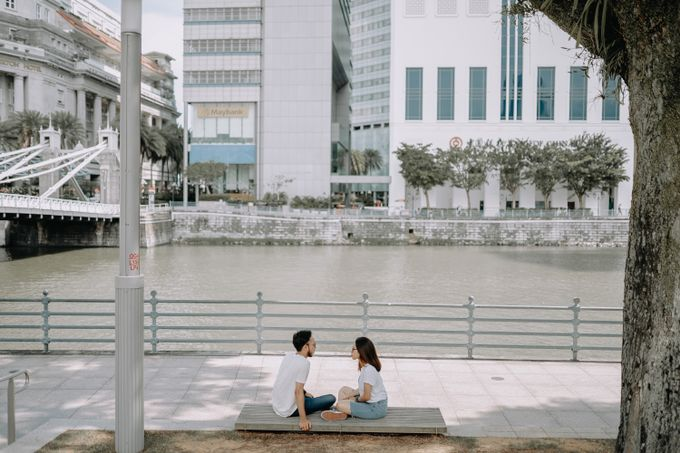Cityscape Prewedding Session Singapore Baghaz & Yesi by Hexa Images - 016