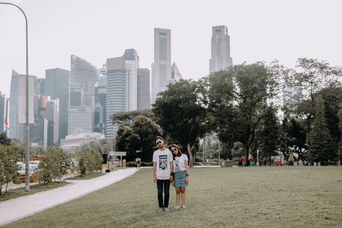 Cityscape Prewedding Session Singapore Baghaz & Yesi by Hexa Images - 023
