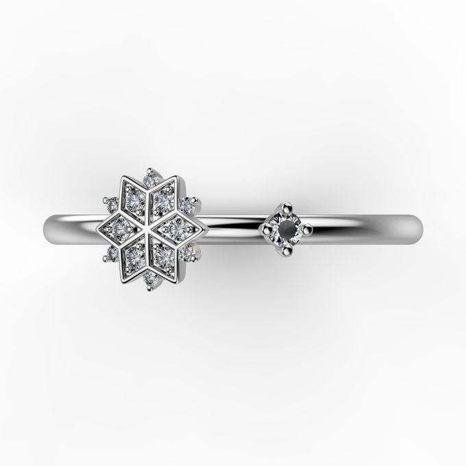 Snowflakes Collection by Mirage Jeweler - 014