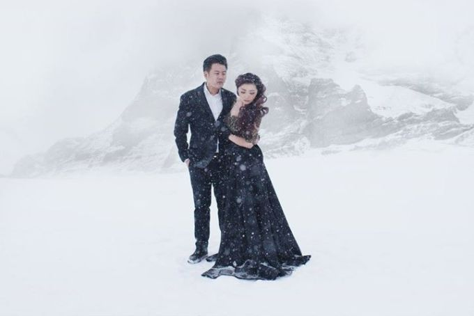 Prewedding Gown by Stephanie Amanda Couture - 011