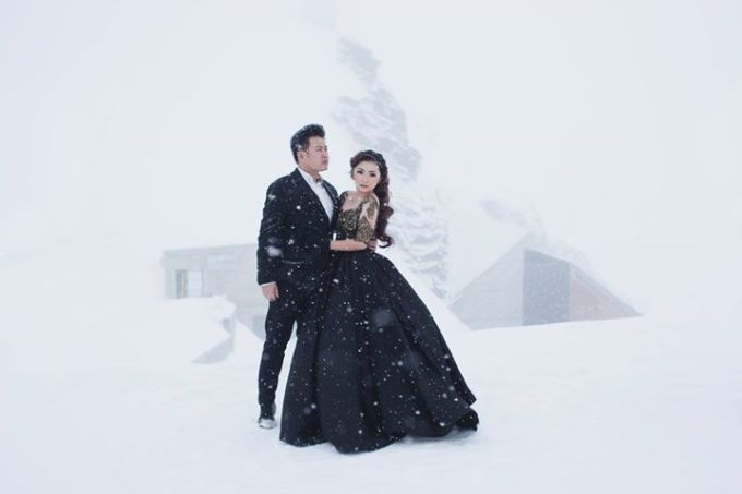 Prewedding Gown by Stephanie Amanda Couture - 012