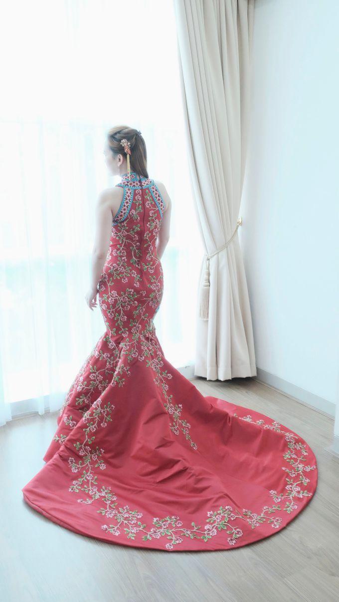 Cheongsam Embroidery - GV HERITAGE by GV by Gabriella Vania - 005