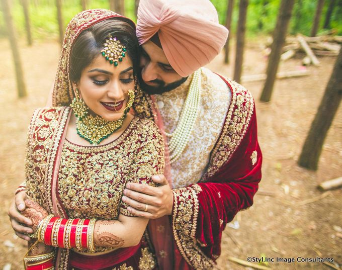 Ritu & Parm Wedding by Styl.Inc Wedding Stylists & Personal Shoppers India - 005