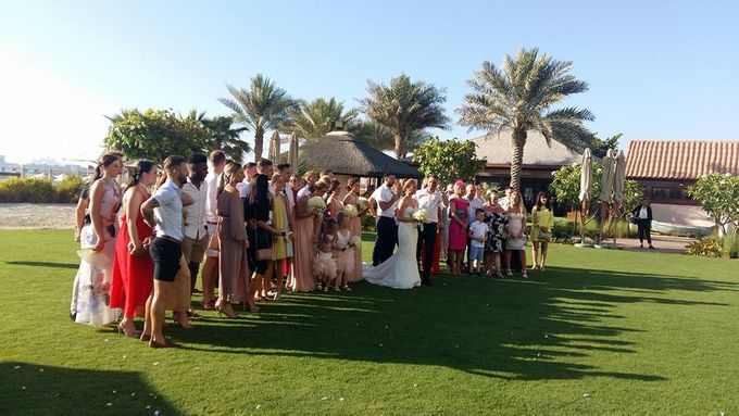 British footballer ties the knot in Dubai by Theresa D Wedding Celebrant - 001