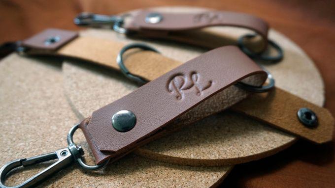 Simple Keychain - Rizki & Lia by Tjenda Gift - 005