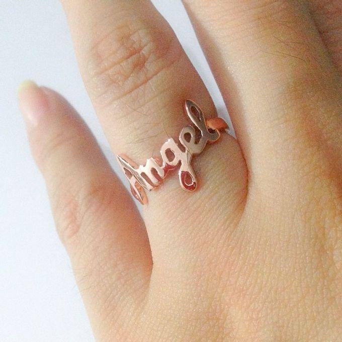 Name & Initial by DA Jewelry - 047