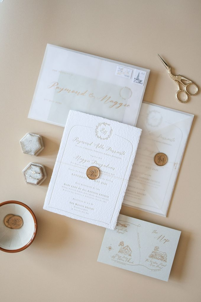 Raymond & Maggie Invitation Suite by Sho Paper - 001