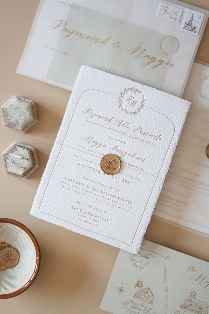 Raymond & Maggie Invitation Suite by Sho Paper - 003
