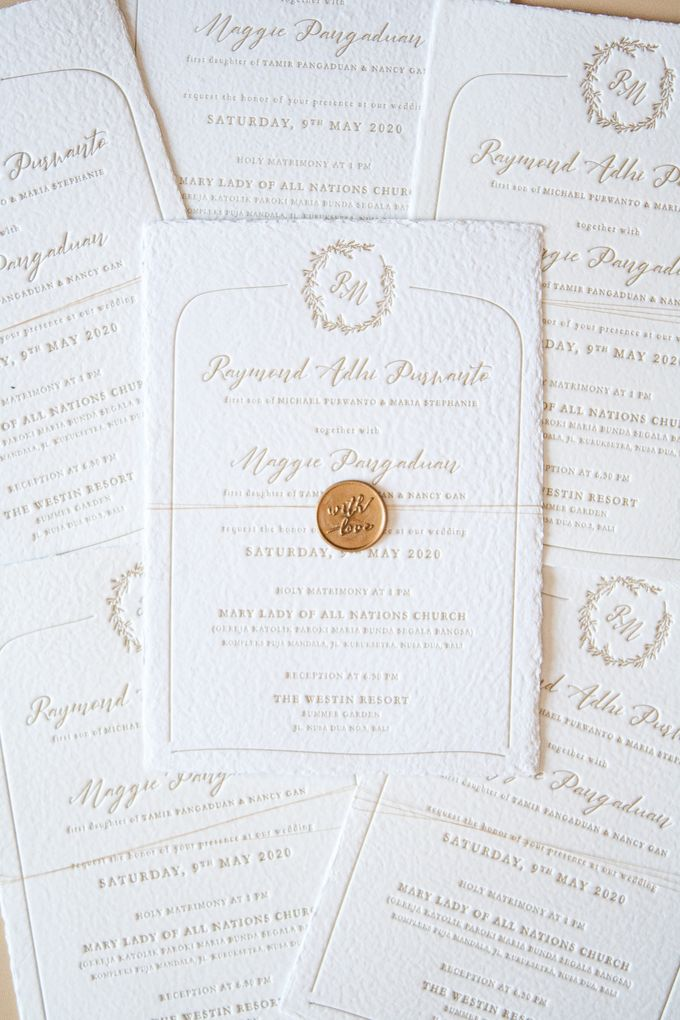 Raymond & Maggie Invitation Suite by Sho Paper - 004