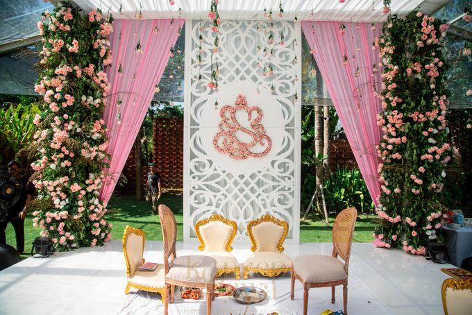Beautifully Indian Wedding by Konsep Sejiwa - 034