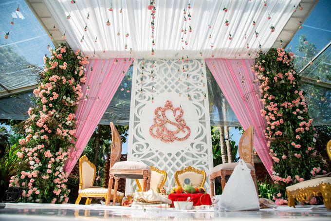 Beautifully Indian Wedding by Konsep Sejiwa - 035