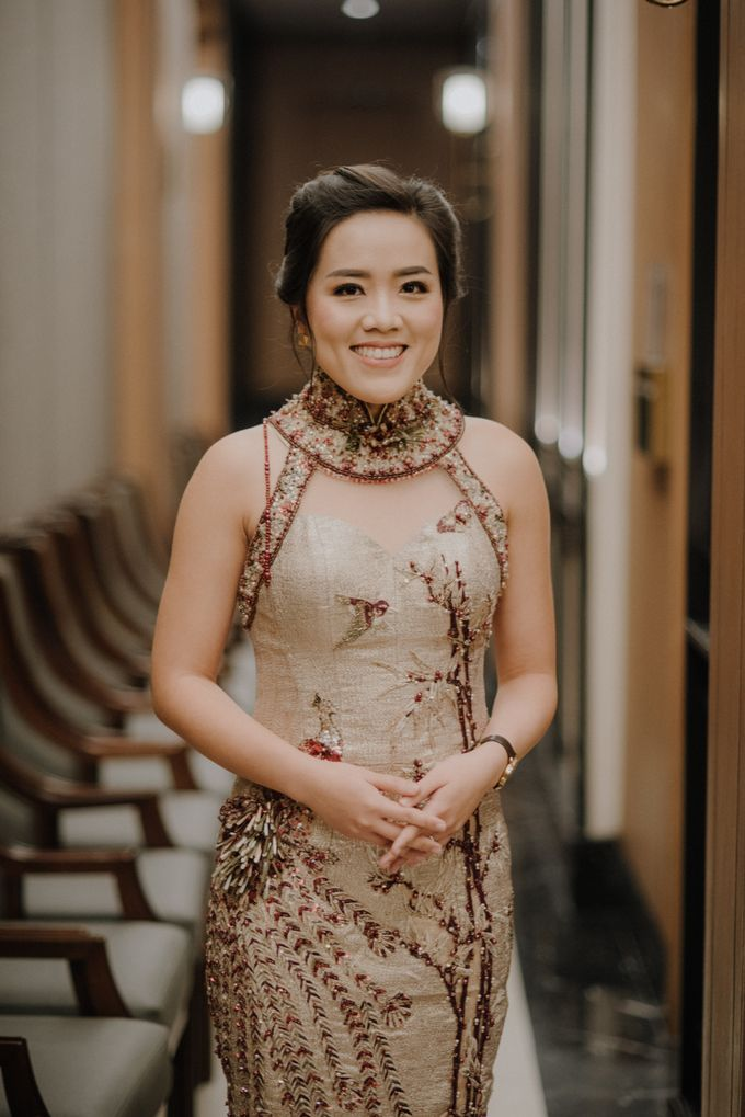 The Engagement of Rudy & Meilani by Macherie dressmaker - 001