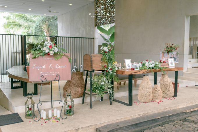 Wedding Ingrid & Benno by Azila Villa - 012