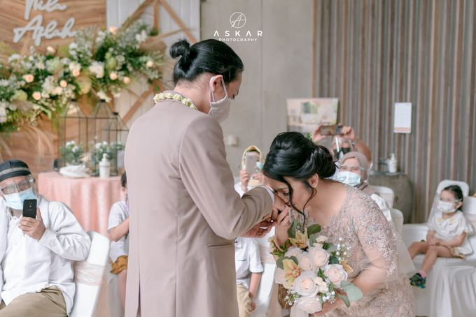 Akad Nikah Nila & Aflah by Azila Villa - 014