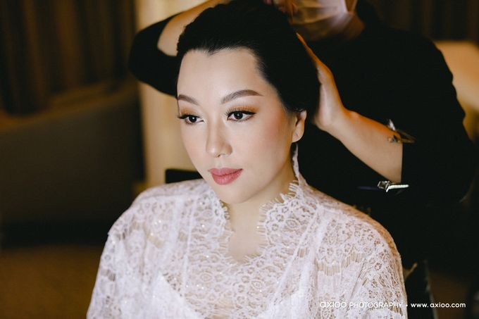 The Wedding of Riandy & Marcella by Mimi kwok makeup artist - 001