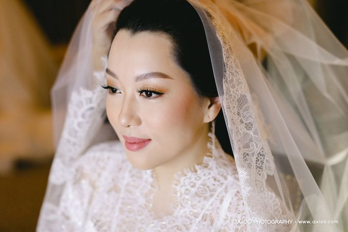 The Wedding of Riandy & Marcella by Mimi kwok makeup artist - 002
