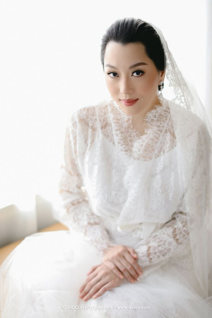 The Wedding of Riandy & Marcella by Mimi kwok makeup artist - 003