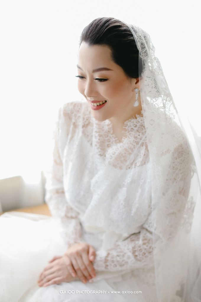 The Wedding of Riandy & Marcella by Mimi kwok makeup artist - 004