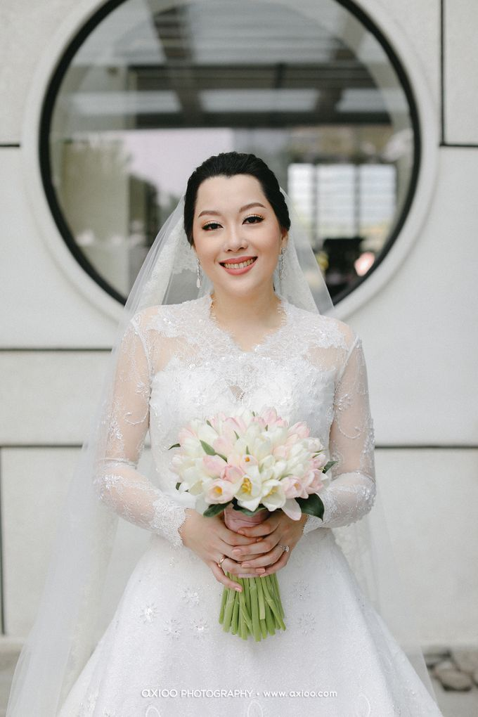 The Wedding of Riandy & Marcella by Mimi kwok makeup artist - 006