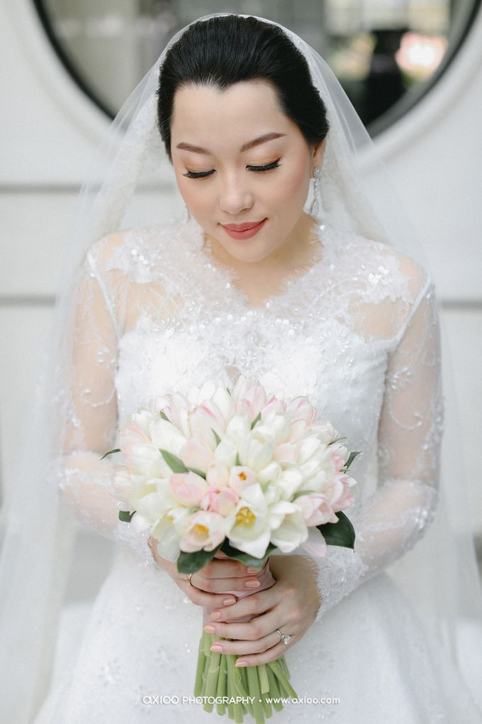 The Wedding of Riandy & Marcella by Mimi kwok makeup artist - 007