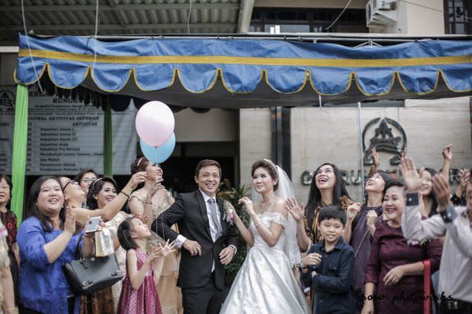 The Wedding of Andree & Risa by FROST Event Designer - 024