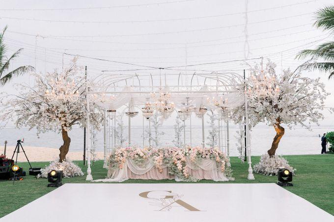 Gideon & Aktalisa Wedding by akustika bali enterprise - 009