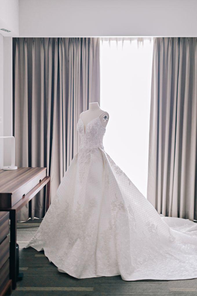 Wedding of Angga & Andrea by Treesia Makeup Artist - 019