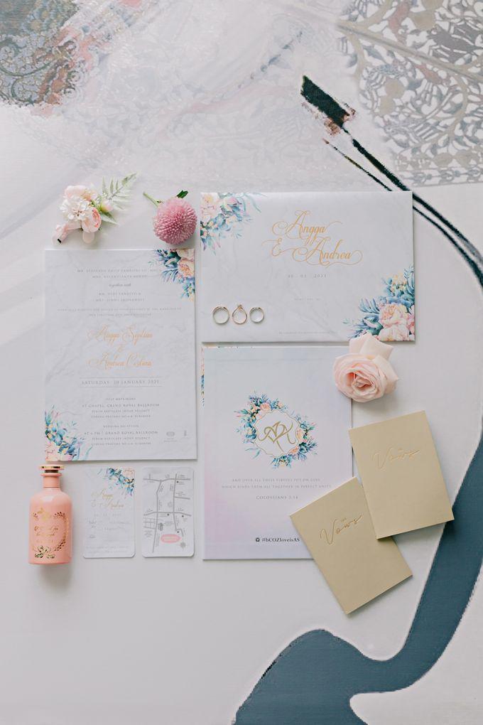 Wedding of Angga & Andrea by Treesia Makeup Artist - 021