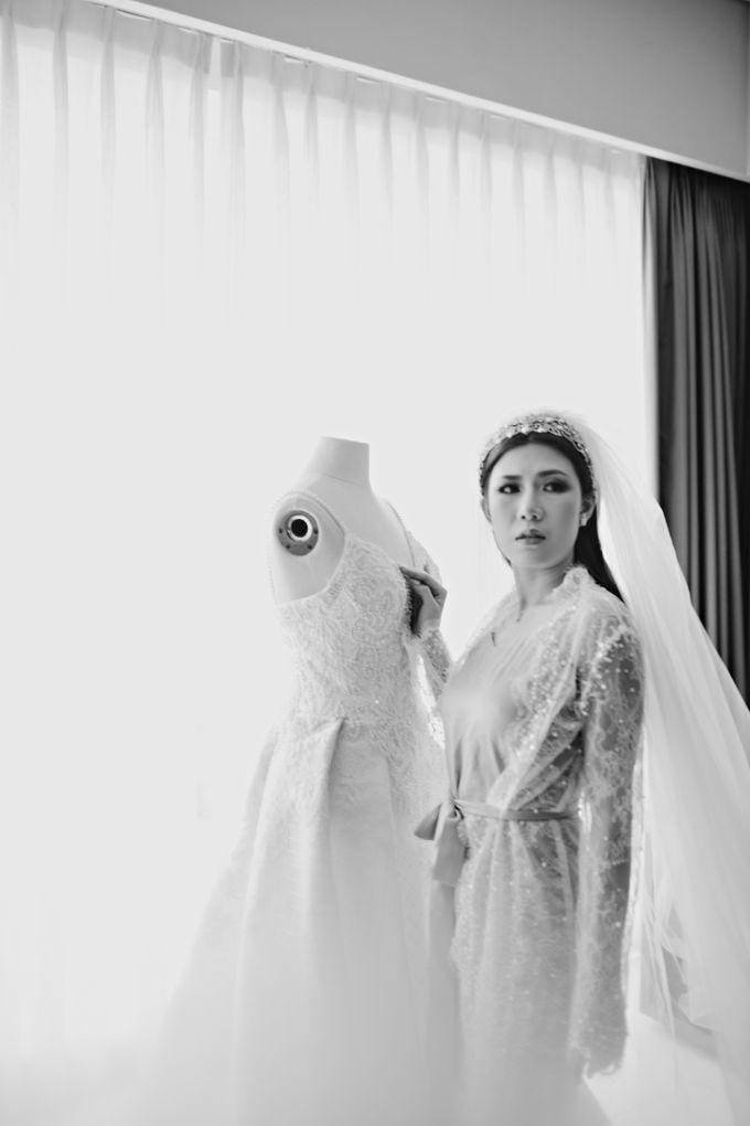 Wedding of Angga & Andrea by Treesia Makeup Artist - 029