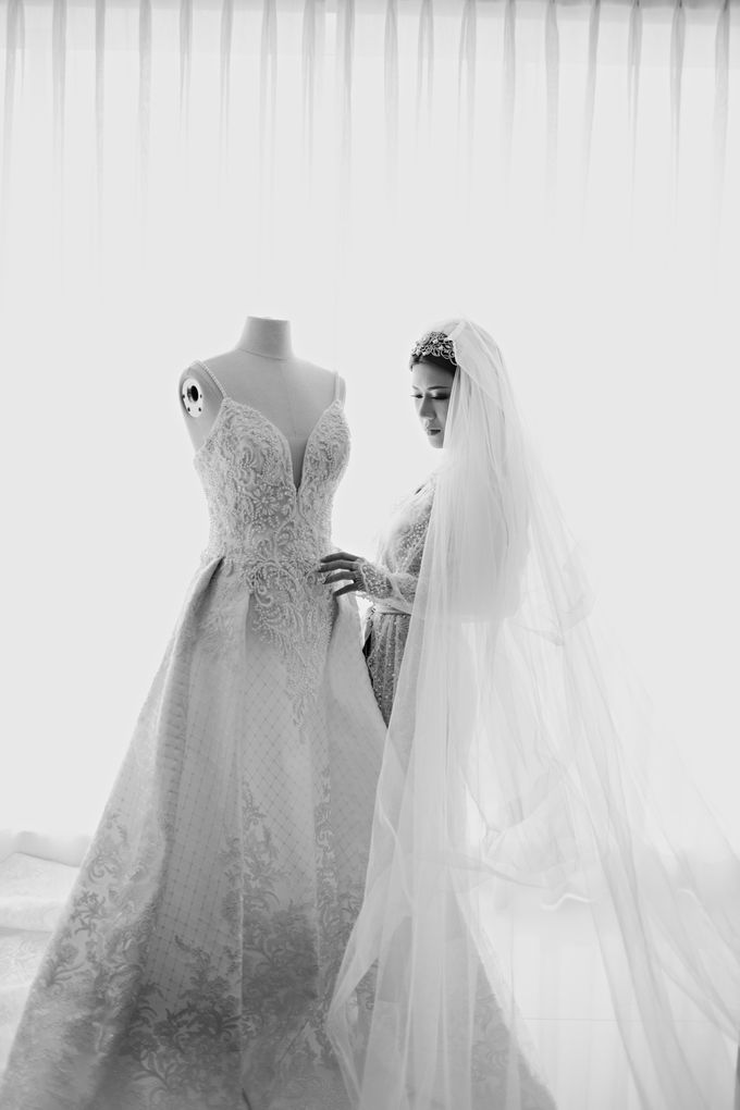 Wedding of Angga & Andrea by Treesia Makeup Artist - 030