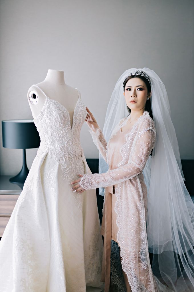 Wedding of Angga & Andrea by Treesia Makeup Artist - 031