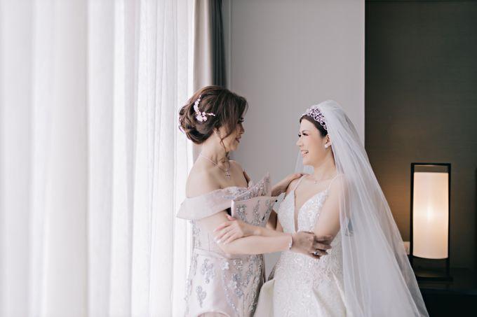 Wedding of Angga & Andrea by Treesia Makeup Artist - 034