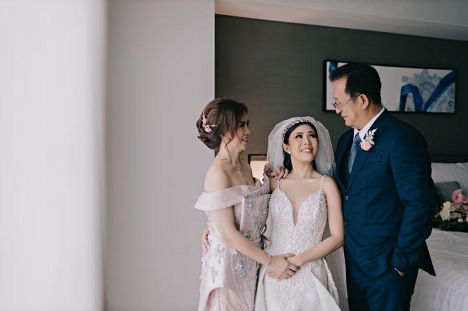 Wedding of Angga & Andrea by Treesia Makeup Artist - 035