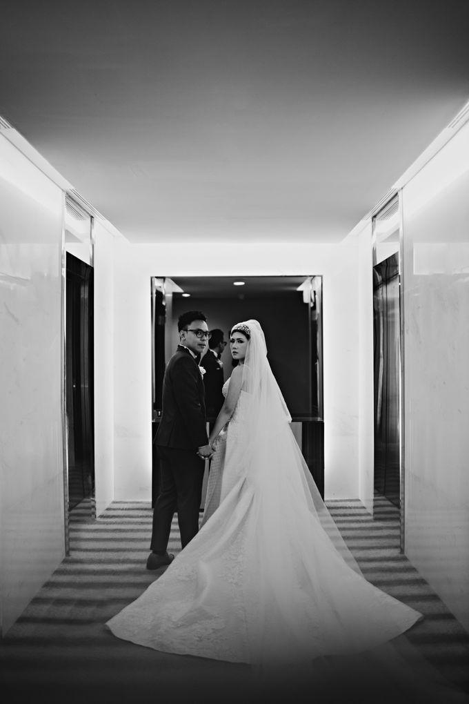 Wedding of Angga & Andrea by Treesia Makeup Artist - 037