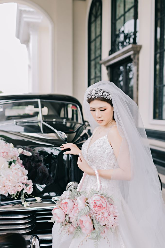 Wedding of Angga & Andrea by Treesia Makeup Artist - 042