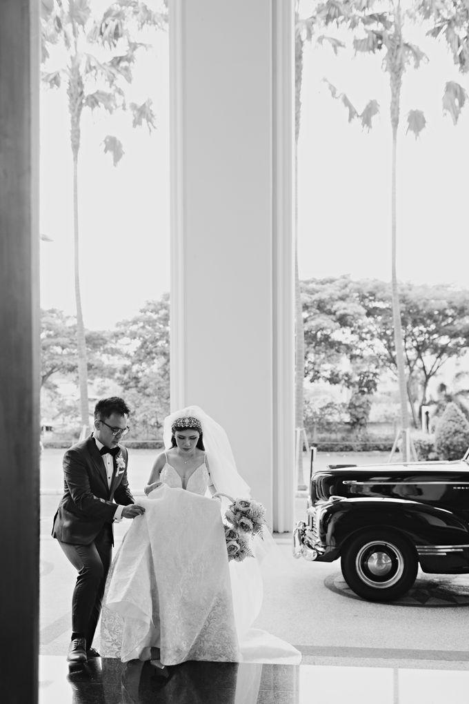 Wedding of Angga & Andrea by Treesia Makeup Artist - 043