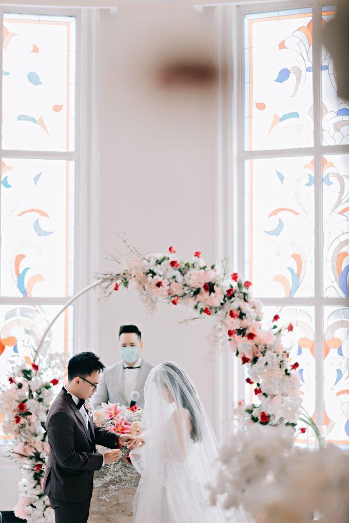 Wedding of Angga & Andrea by Treesia Makeup Artist - 048