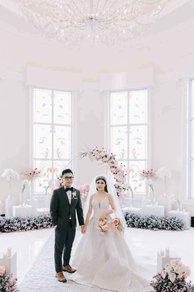Wedding of Angga & Andrea by Treesia Makeup Artist - 004