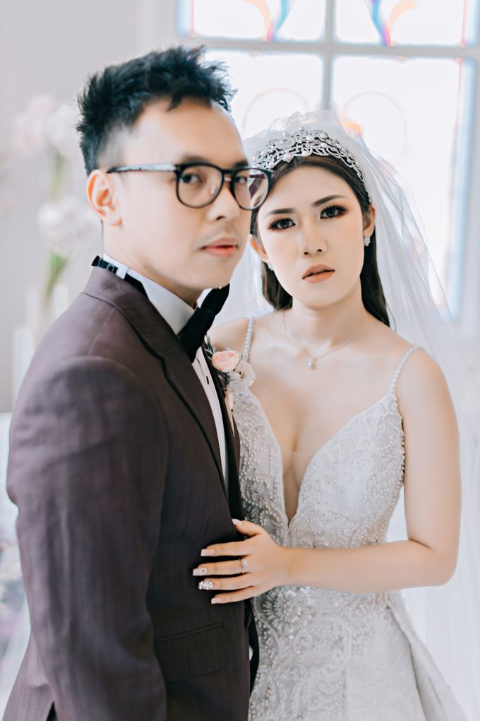 Wedding of Angga & Andrea by Treesia Makeup Artist - 007