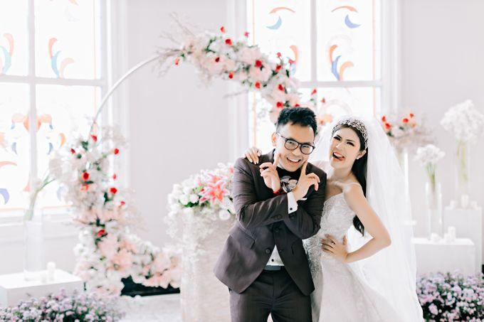 Wedding of Angga & Andrea by Treesia Makeup Artist - 008