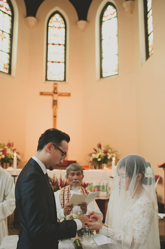 Andre & Agnes Wedding by Pine Hill Cibodas - 010