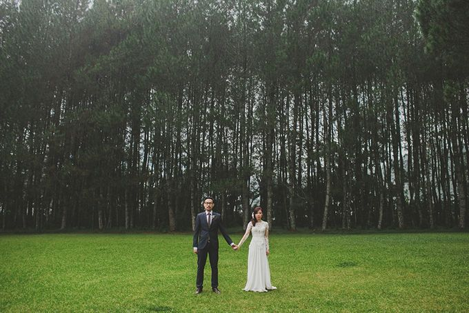 Andre & Agnes Wedding by Pine Hill Cibodas - 015