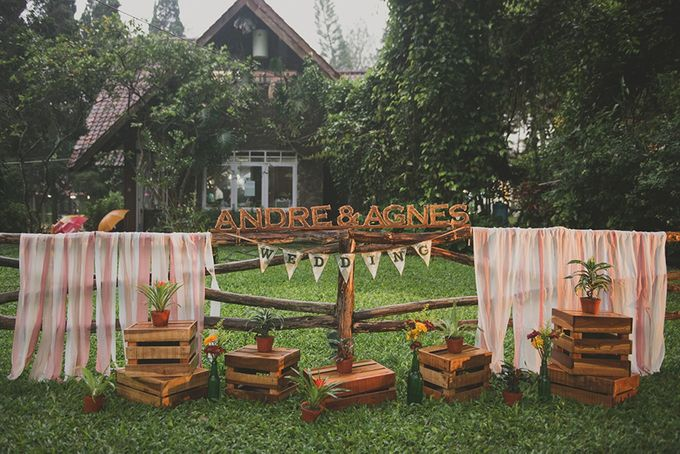 Andre & Agnes Wedding by Pine Hill Cibodas - 017