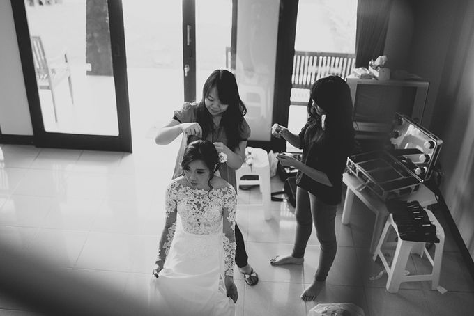Andre & Agnes Wedding by Pine Hill Cibodas - 003
