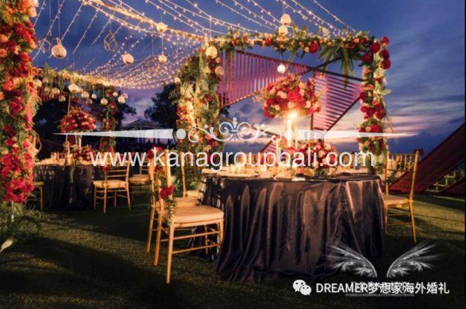Red Maroon Navy Blue Wedding Theme By Bali Wedding Decoration