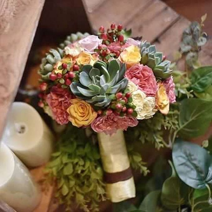 Round Bouquet Collection by Il Fiore - 018