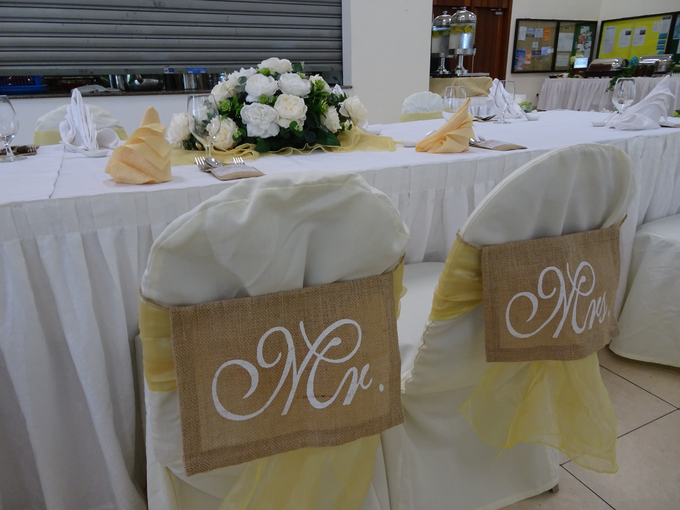 Church Wedding of Morven & Gladies by Royal Catering Services Pte Ltd - 002