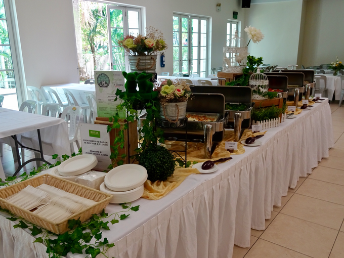 Church Wedding of Morven & Gladies by Royal Catering Services Pte Ltd - 005