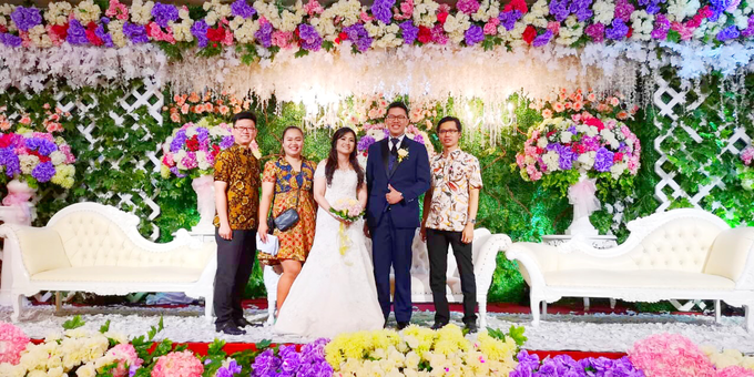 Wedding of Rinaldi & Fillicia by Tracy Bridal House - 002
